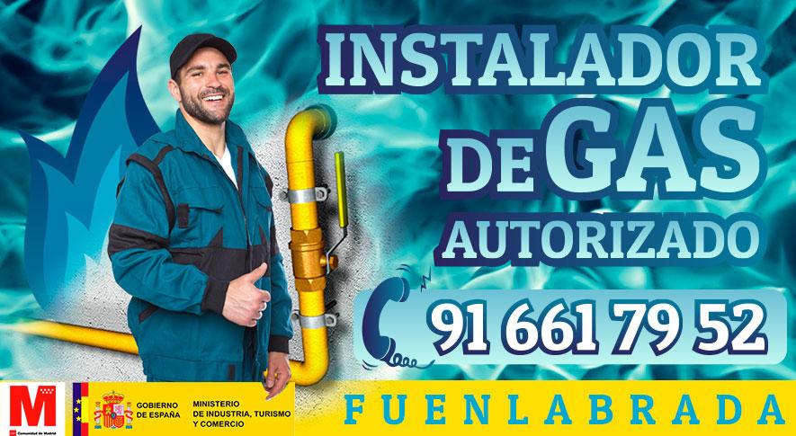 Servicio tecnico instalador autorizado de gas en Fuenlabrada