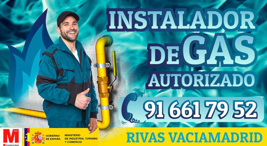 Servicio tecnico instalador autorizado de gas en Rivas Vaciamadrid