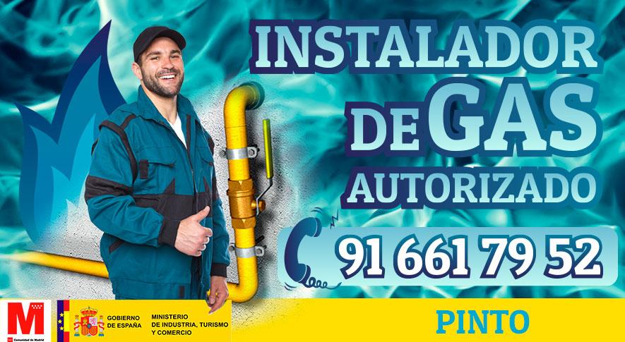 Servicio técnico instalador de gas en Pinto