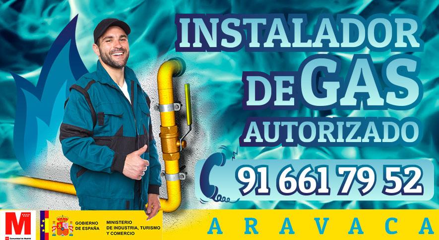 Servicio técnico Instalador de gas en Aravaca Autorizado