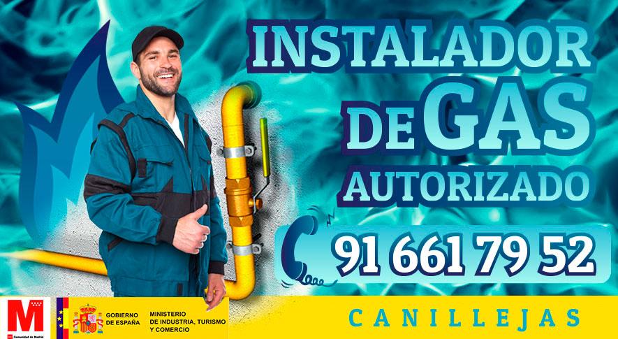 Servicio técnico Instalador de gas en Canillejas Autorizado