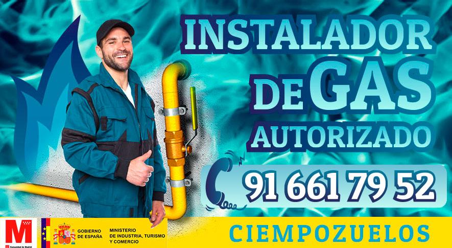 Servicio técnico instalador de gas natural en Ciempozuelos
