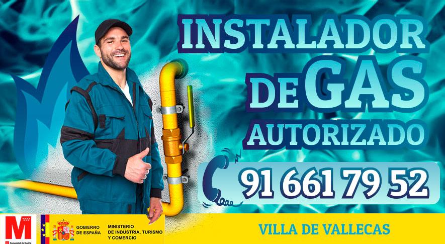 instalador de gas natural en Villa de Vallecas