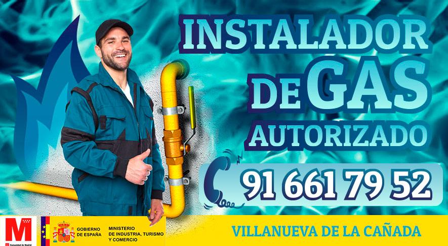 Servicio tecnico instalador autorizado de gas en Villanueva de la Cañada