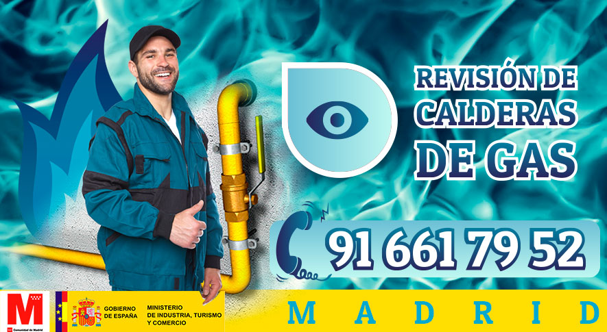 Revisión de calderas de gas en Madrid