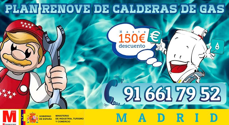Plan Renove de Calderas de gas en Madrid