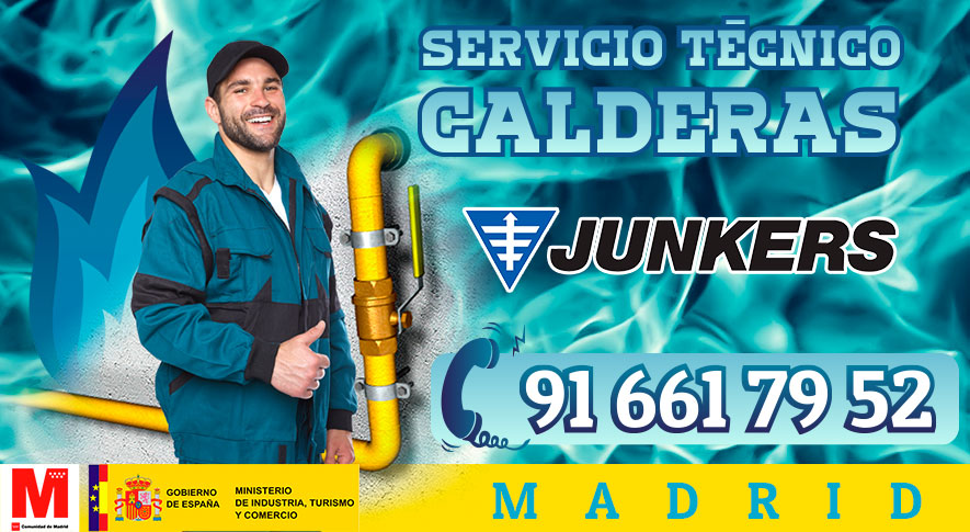 Servicio Técnico y Reparación de calderas Junkers en Madrid.