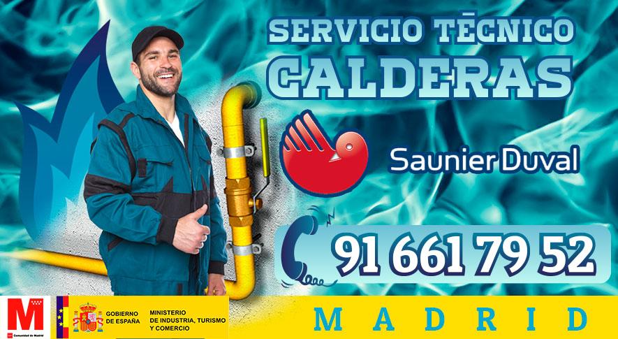 Servicio Técnico y Reparación de calderas Saunier Duval en Madrid.