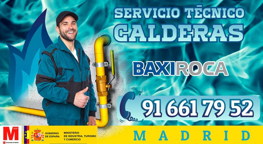 servicio t cnico calderas baxiroca en madrid urgente