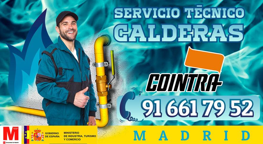 Servicio técnico calderas Cointra en Madrid.