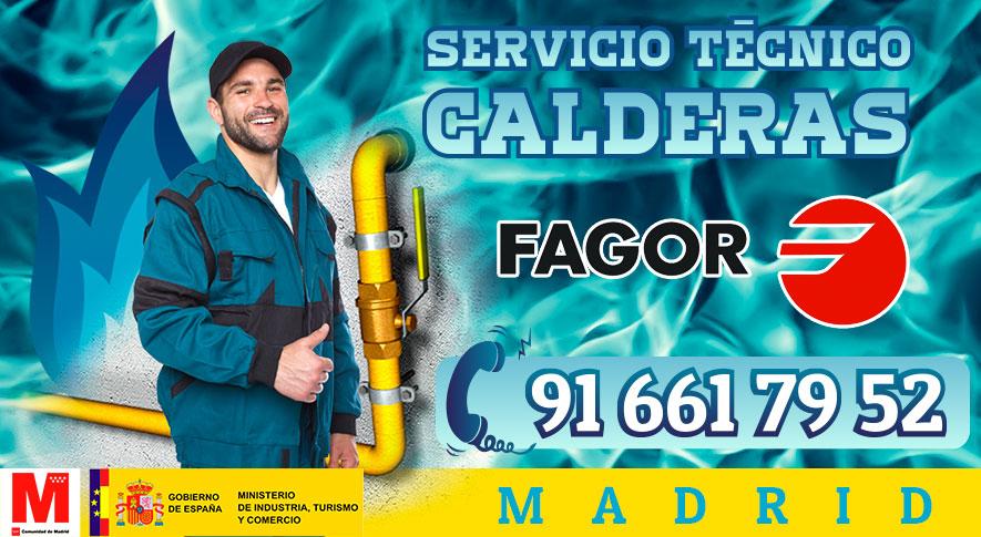 Servicio Técnico calderas Fagor en Madrid.