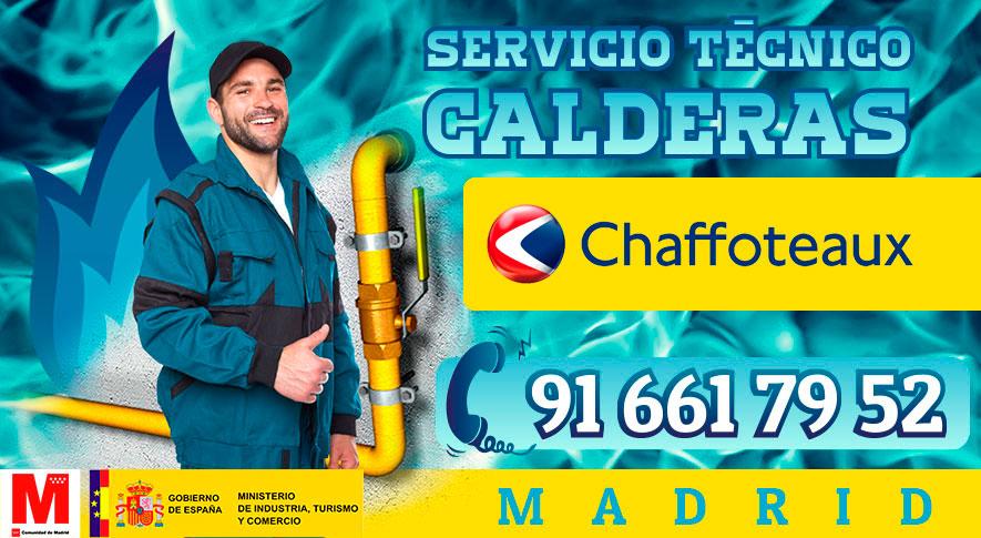 reparación de calderas Chaffoteaux en Madrid.