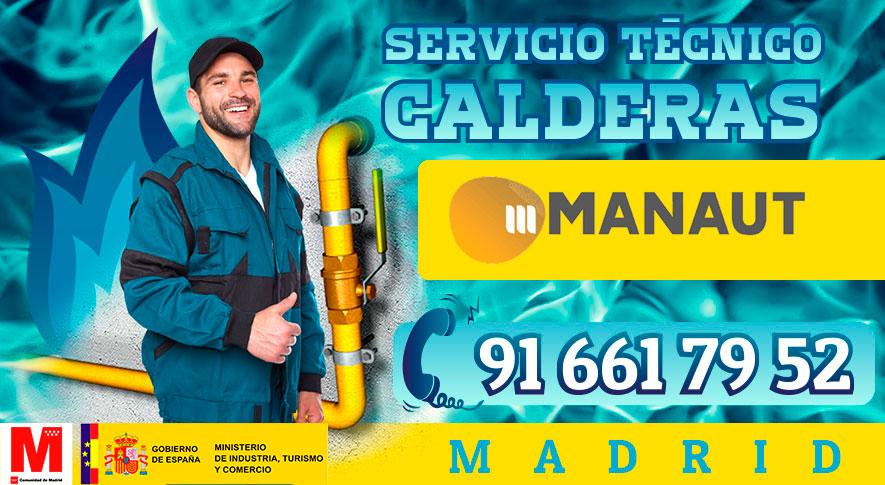 reparación de calderas Manaut en Madrid
