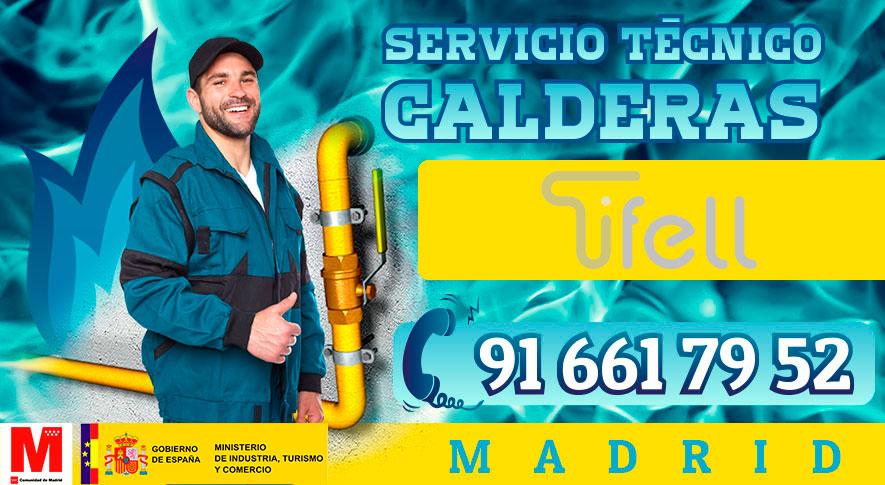 reparación de calderas Tifell en Madrid
