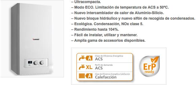 reparación de Calderas HERMANN MICRAPLUS 25 en Madrid