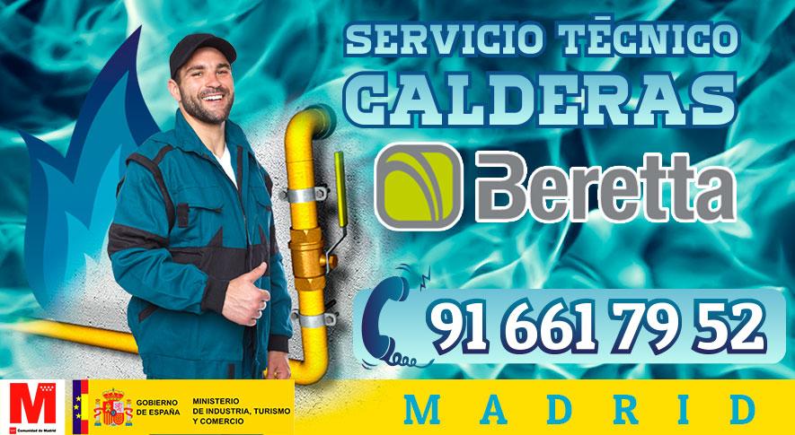 Reparación calderas Beretta en Madrid