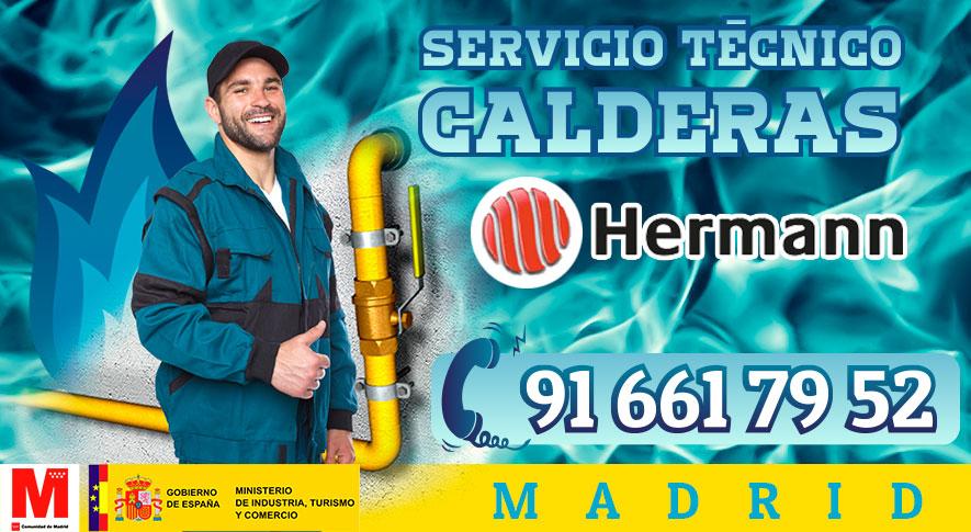 Reparación calderas Hermann en Madrid.
