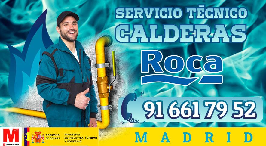 Reparación calderas Roca en Madrid.